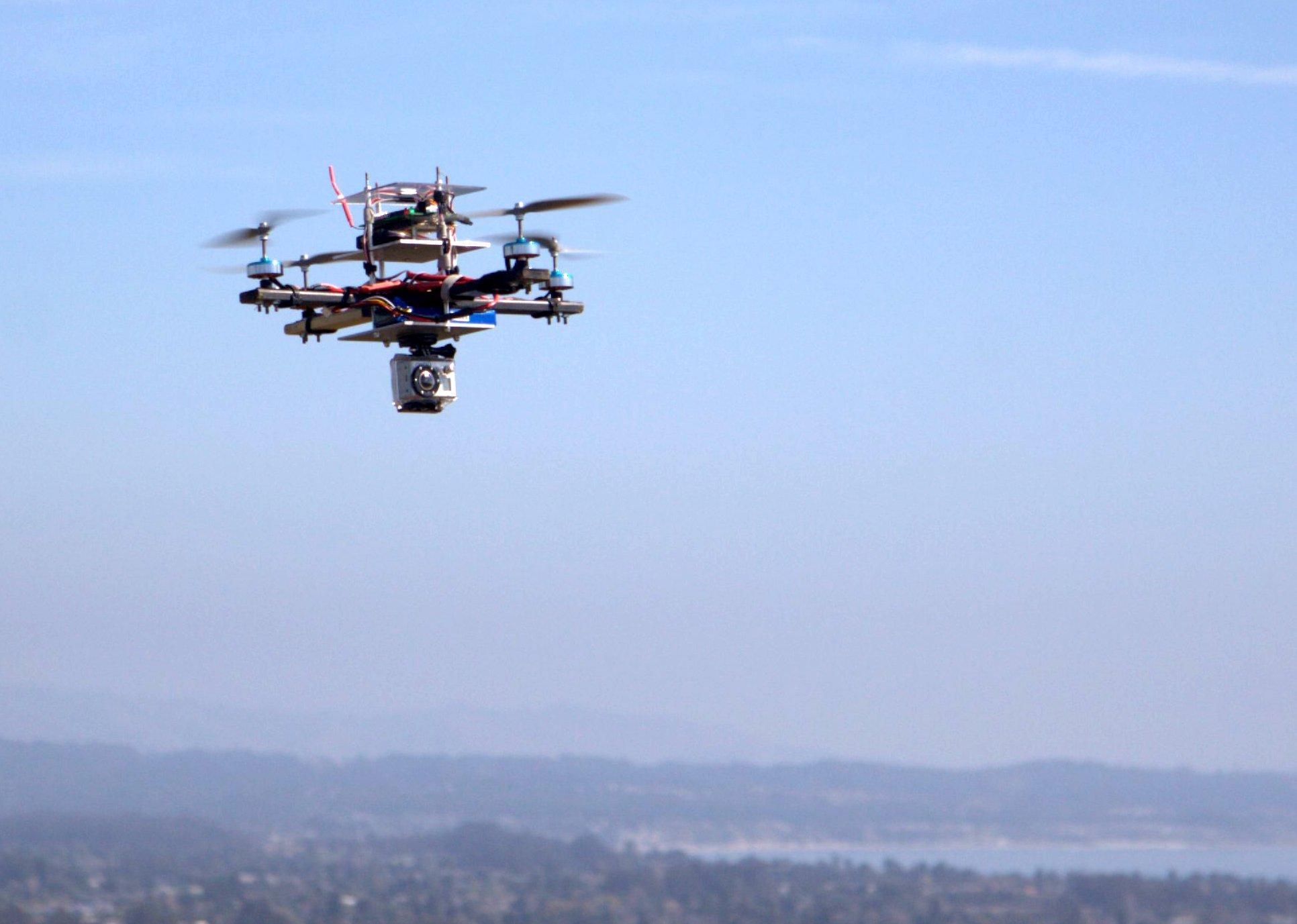 Quadcopter, quadcopter, quadcopter!